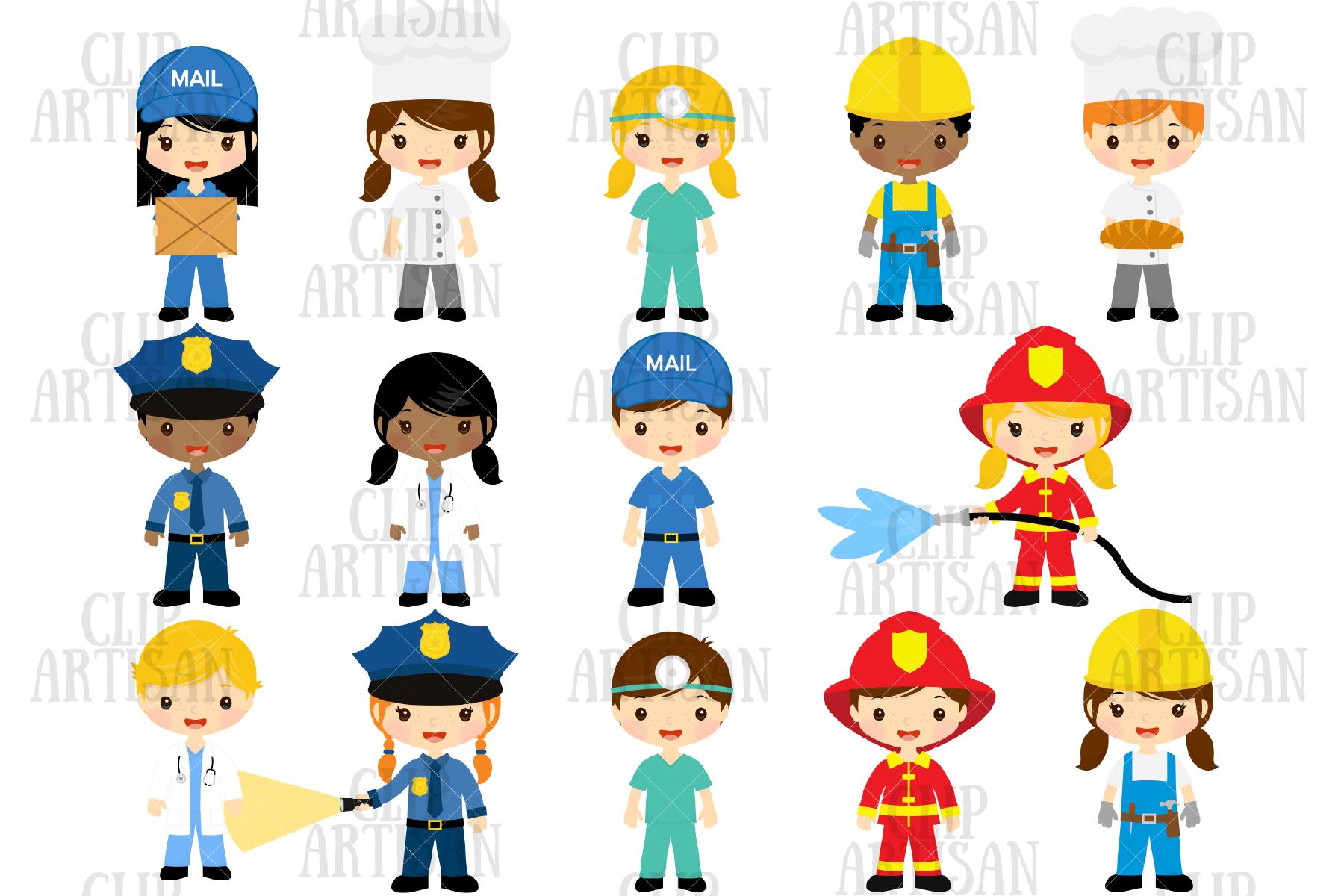 Community Helpers Clipart Job Clipart Professions