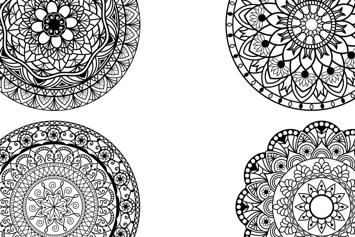 Download Mandala svg files (181397)   Cut Files   Design Bundles