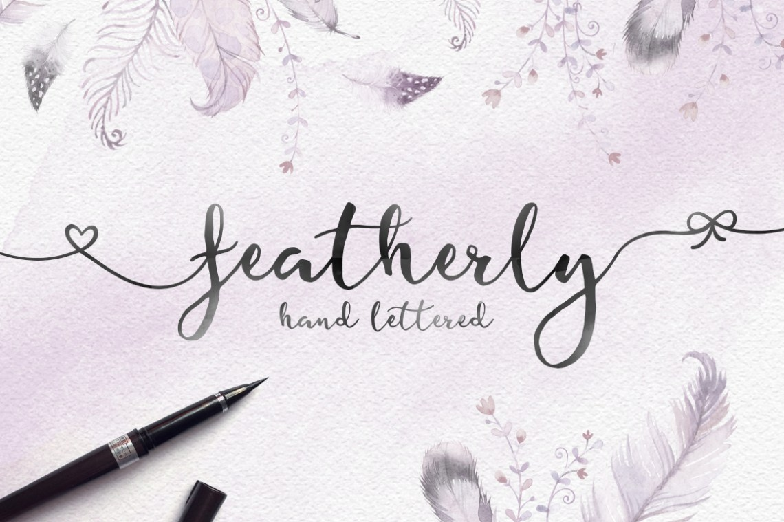 Download Valentine's Font Bundle with 6 Free Procreate Brushes ...