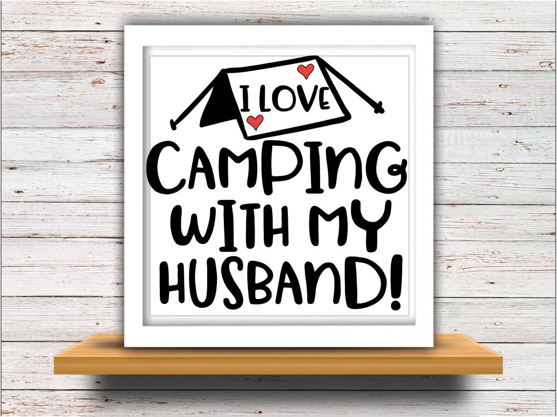 Download Camping svg SVG DXF JPEG Silhouette Cameo Cricut I love ...
