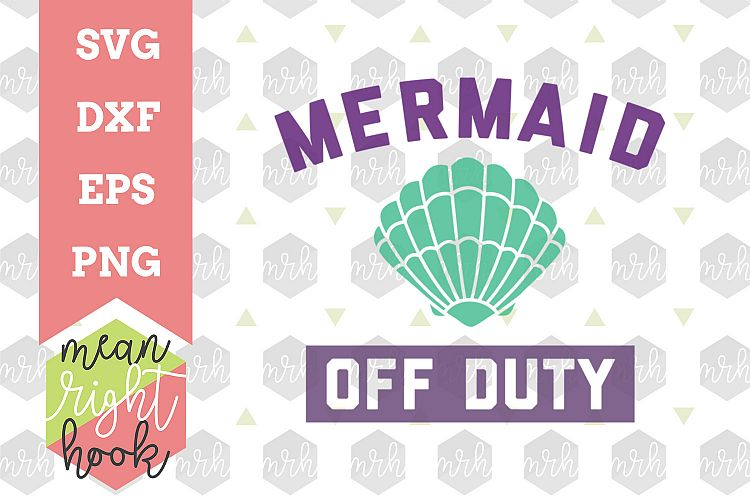 Download Mermaid Off Duty - SVG, EPS, DXF, PNG vector files for ...