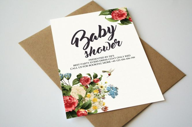 Baby Shower Invitation Card 450781
