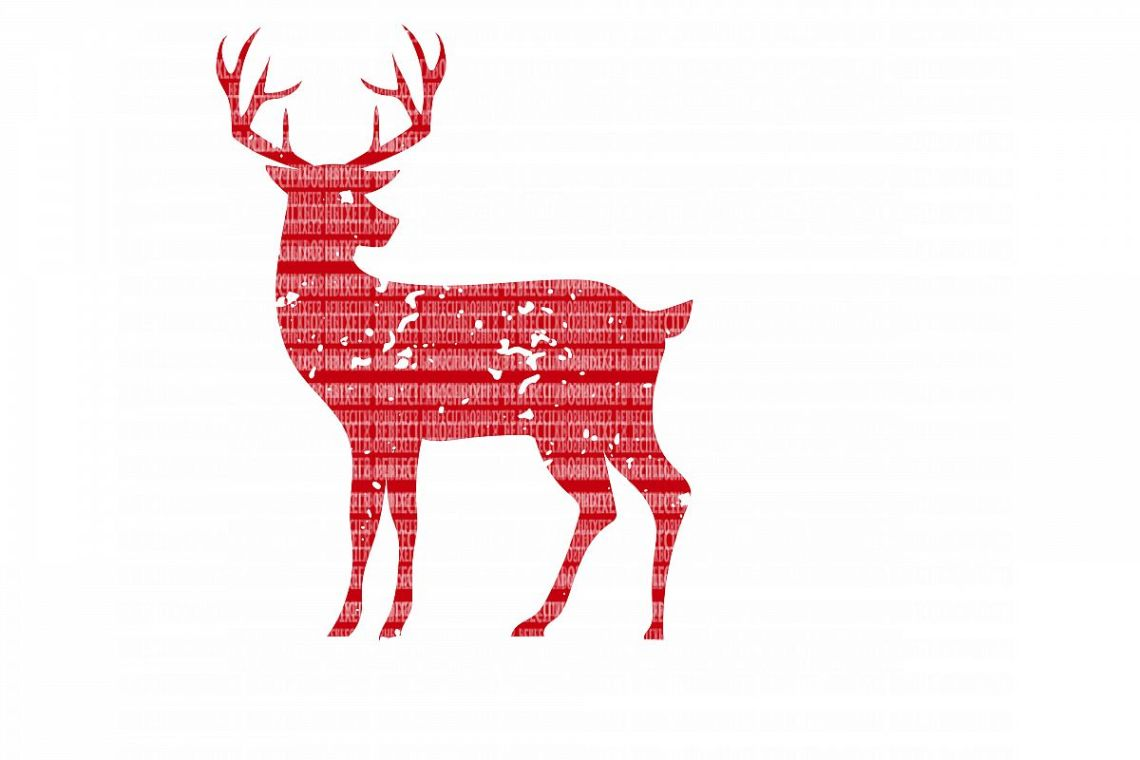 Download Distressed Deer SVG Files Cut Files Heat Transfer Vinyl ...