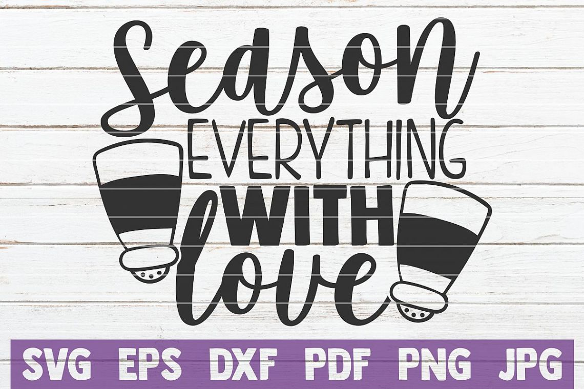 Download Season Everything With Love SVG Cut File (517867)   Cut ...