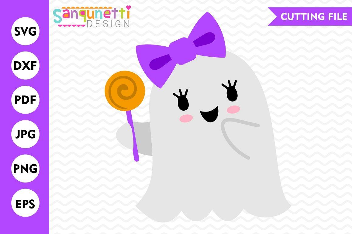 Girl Ghost Svg Ghost Svg Halloween Svg Fall Svg Dxf