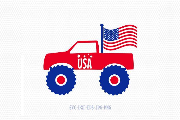 Download Monster car 4 of july svg, Fourth of July SVG, 4th of July ...