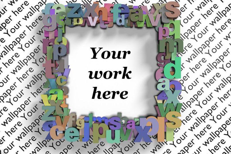 Text Digital Photo Frame   Frameswalls.org