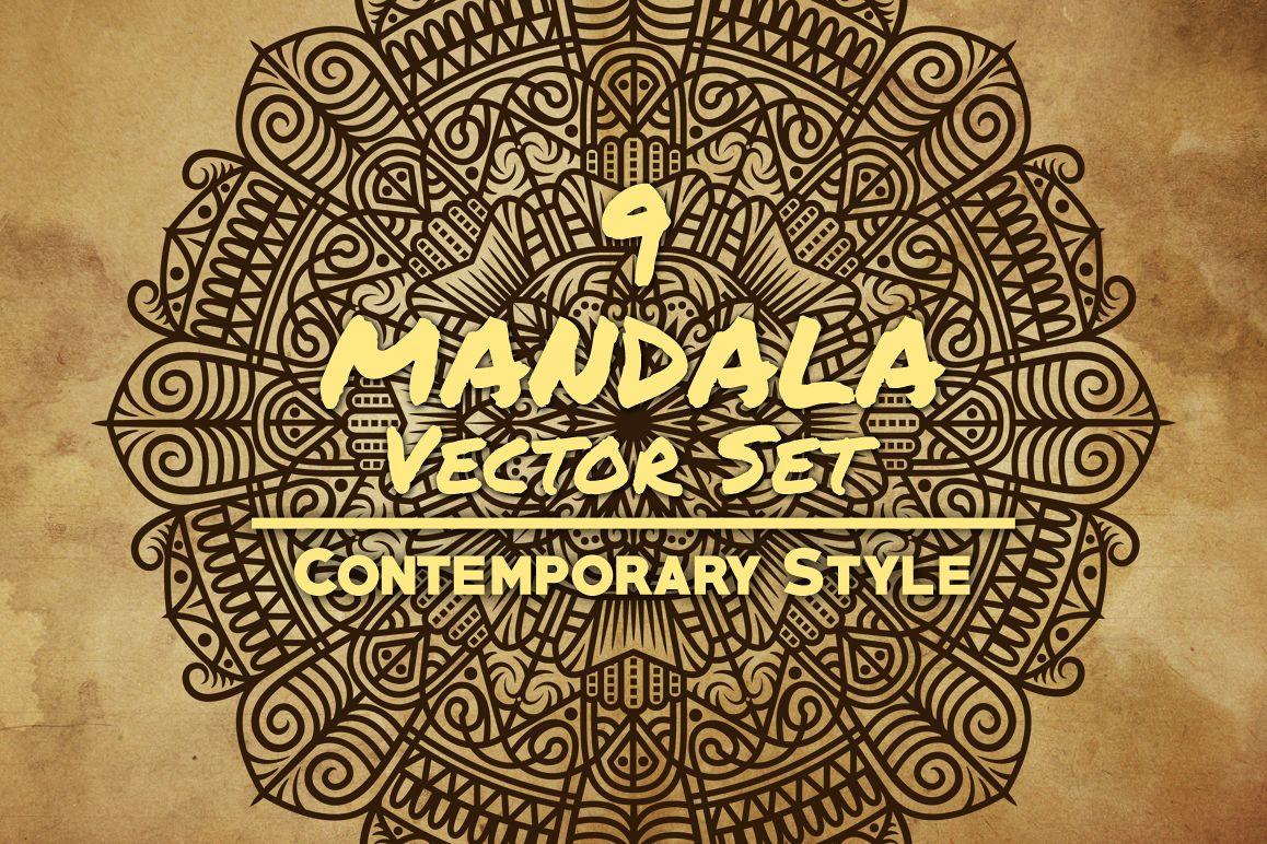 Mandala Art Contemporary Style