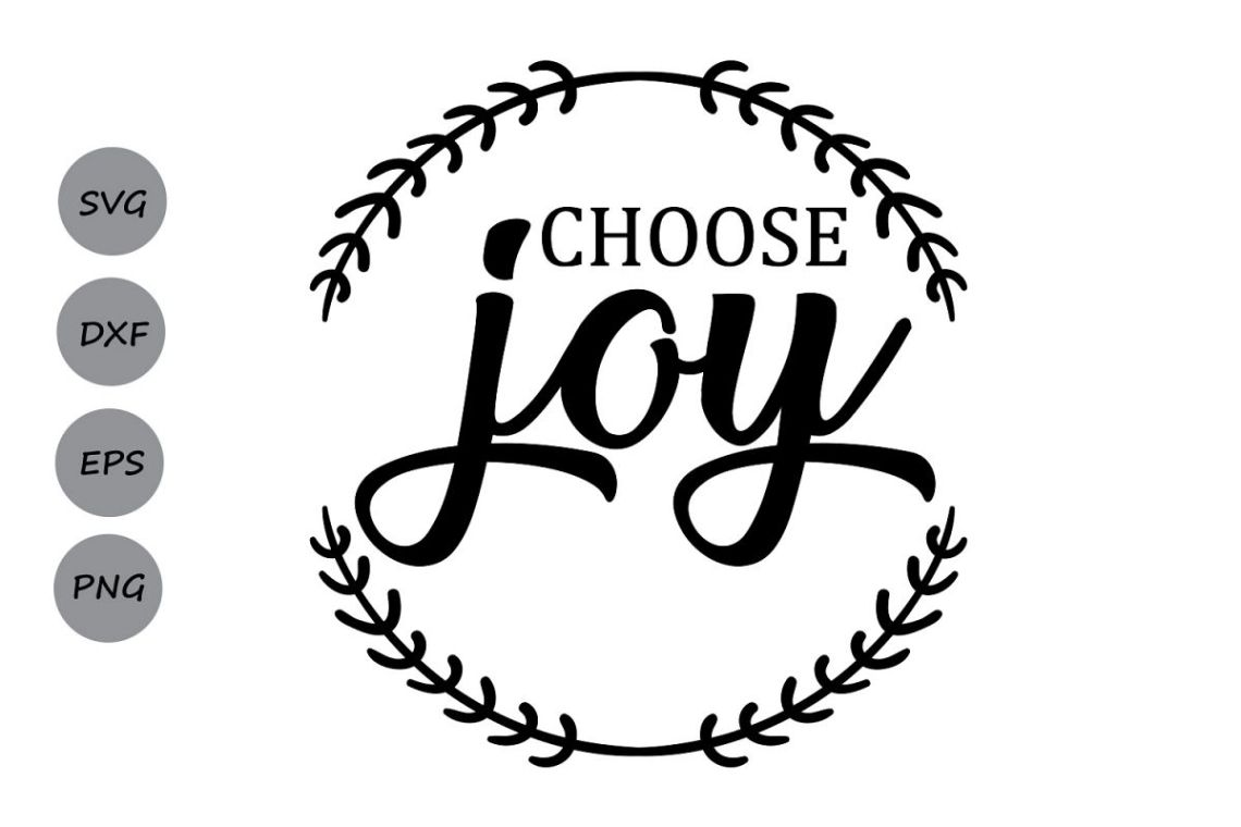 Download Choose Joy SVG, Christmas SVG, Choose Happiness, Merry ...