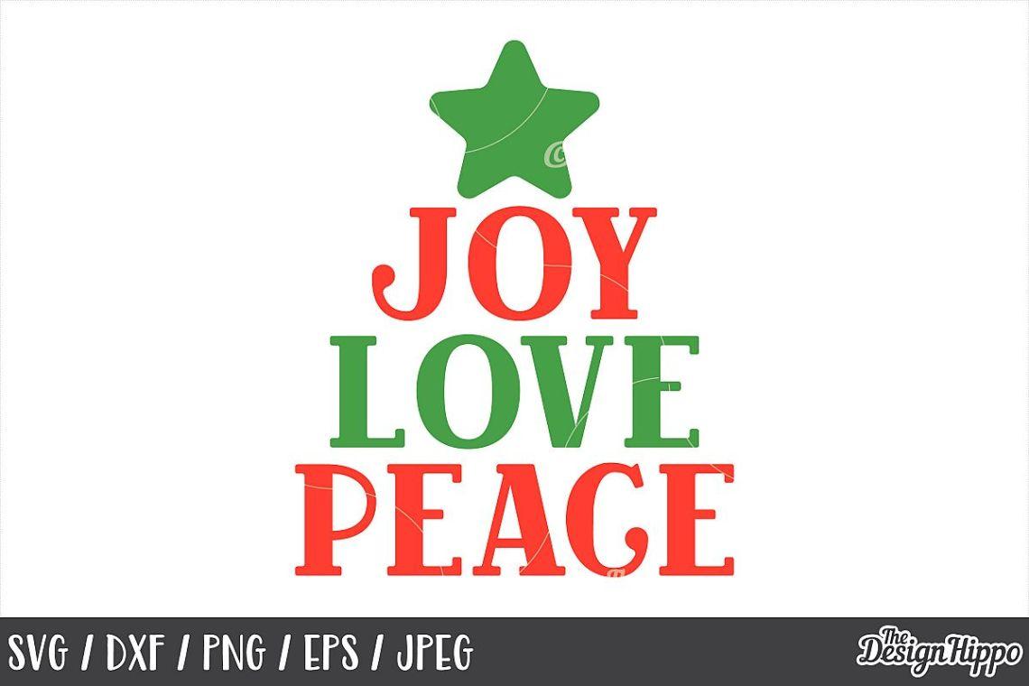 Download Joy Love Peace, Christmas, SVG, PNG, DXF, Cricut, Cut Files