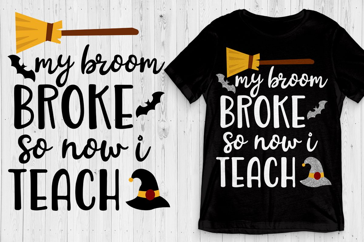 Halloween Svg For Teacher Teacher Halloween Svg Dxf