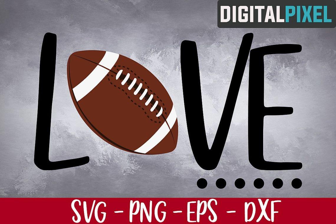 Download Football SVG PNG EPS, Soccer Svg, Football Love Svg