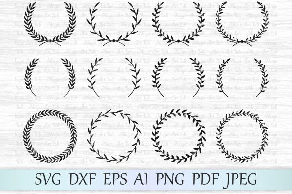 wreath template free svg # 67