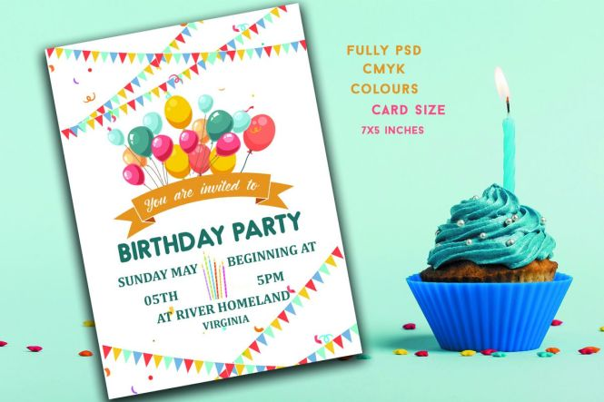 Birthday Invitation Card 319713