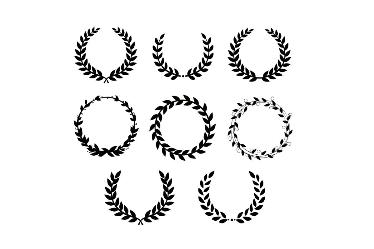 Laurel Wreath Svg