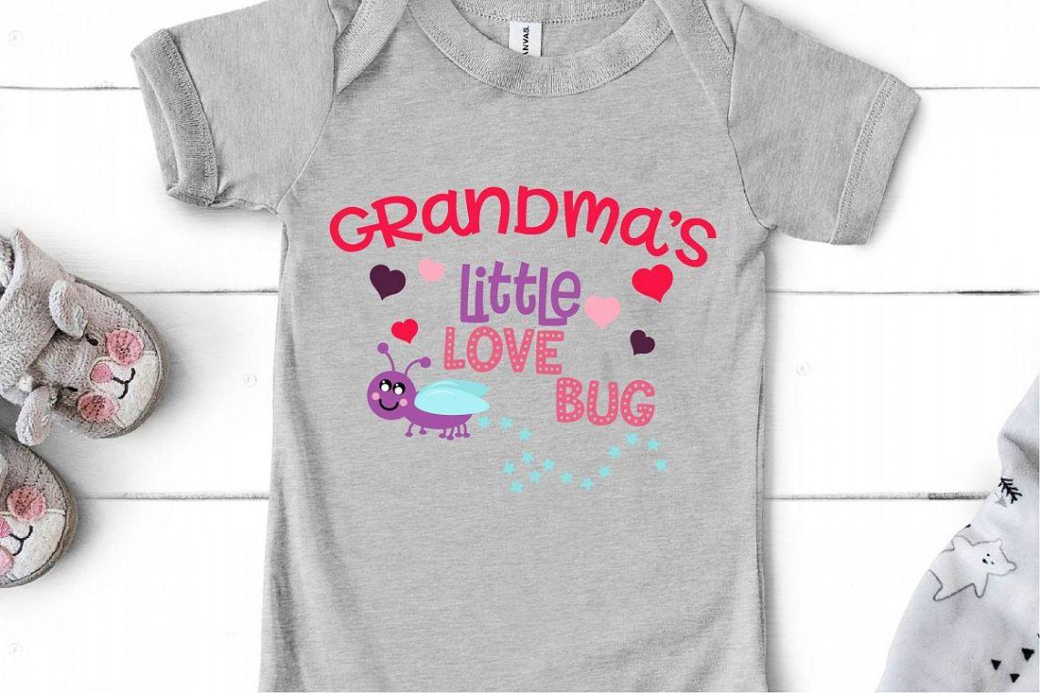 Download Valentine's Day SVG Little Love Bug, Grandma's Love Bug SVG