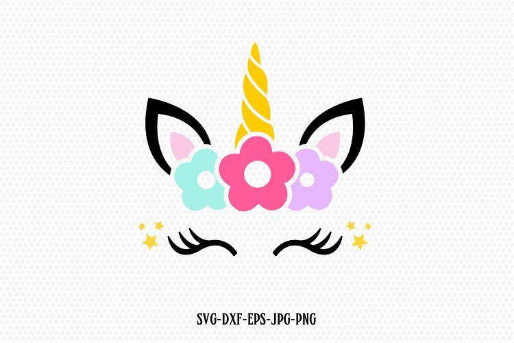 Unicorn Svg Unicorn Eyelashes Unicorn Birthday Svg