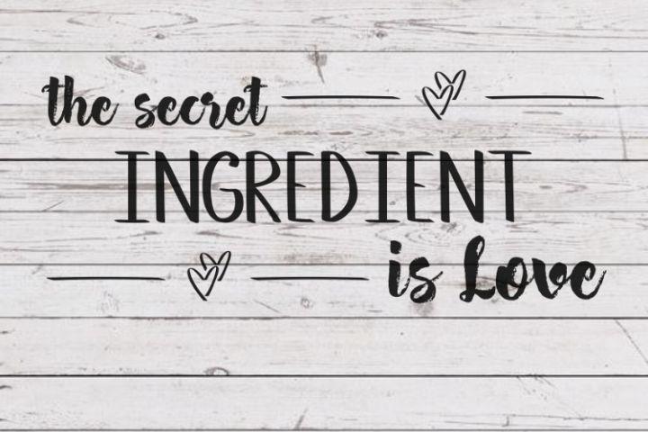 Download The secret ingredient is love svg, Fixer Upper inspired ...