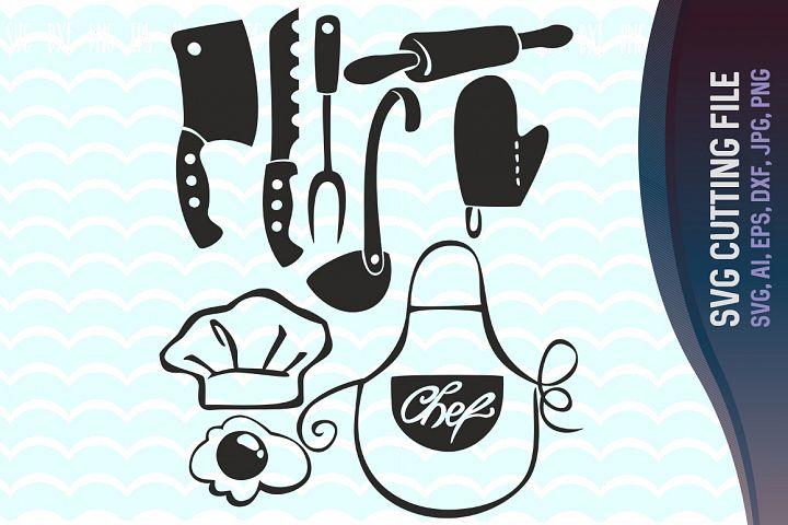 Download Kitchen Svg, Kitchen clipart, Kitchen vector, Cooking ...