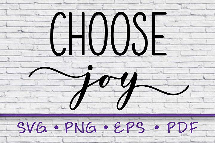 Download choose joy svg, sayings svg, png, instant download, inspire