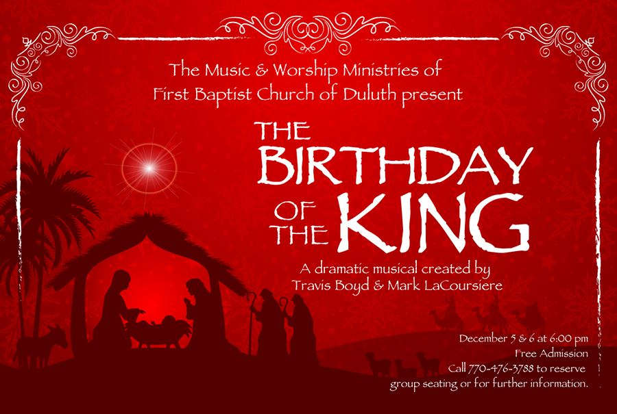 2015 Worship Musical The Birthday Of The King FBCD