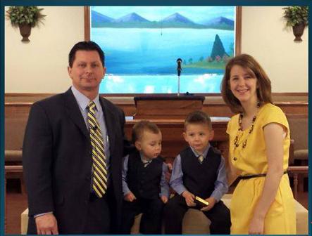 pastor robert boyce and family image