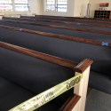 Marked Pews of First Baptist Church Hubbard, Ohio