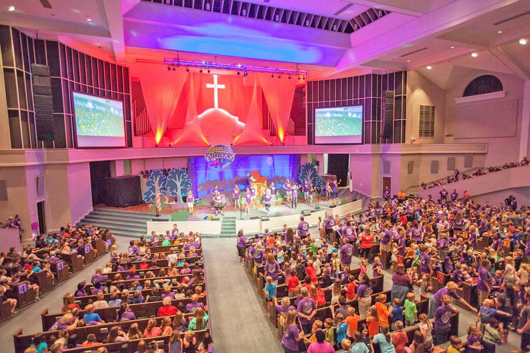 VBS in Sanctuary