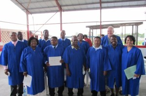 Belize Bible School graduation 2013