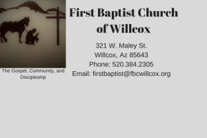 First Baptist Church of Willcox