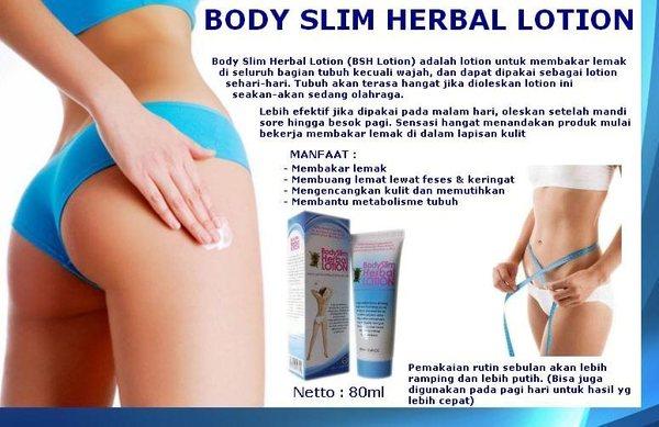 Manfaat Body slim herbal lotion
