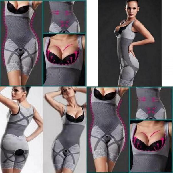 natural bamboo slimming suit ampuh