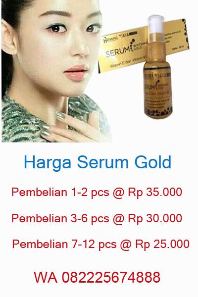 Harga serum gold