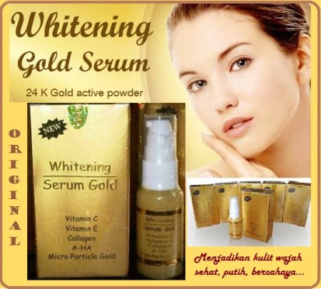 Serum Gold Whitening murah