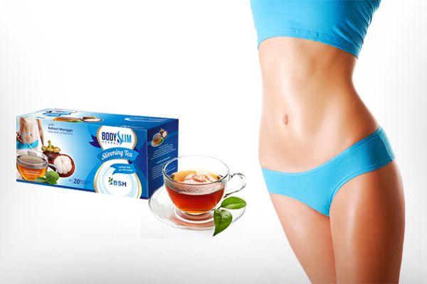 minuman teh pelangsing body slim