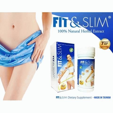 fit & slim obat pelangsing