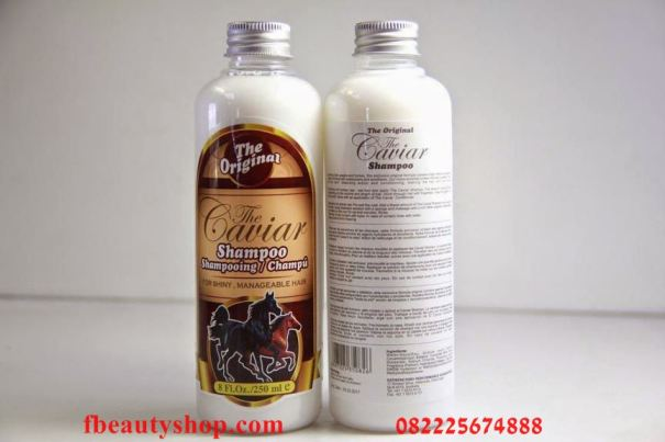 Caviar Shampoo Shampo Kuda