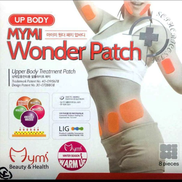 Mymi Wonder Patch Up Body Koyo Pembakar Lemak