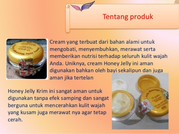komposisi honey jelly