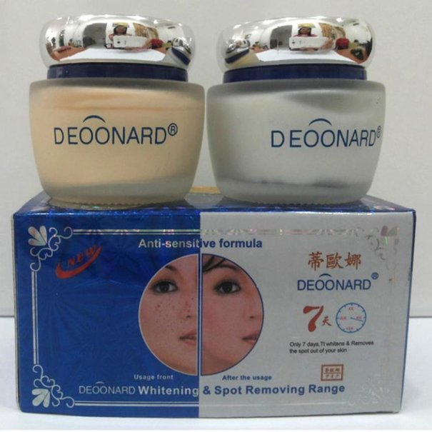 deoonard blue cream malam andamp siang 7 days