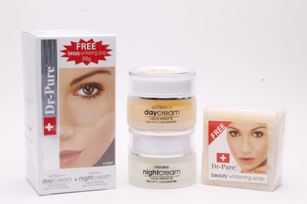 Dr Pure Whitening Cream Pemutih Wajah BPOM