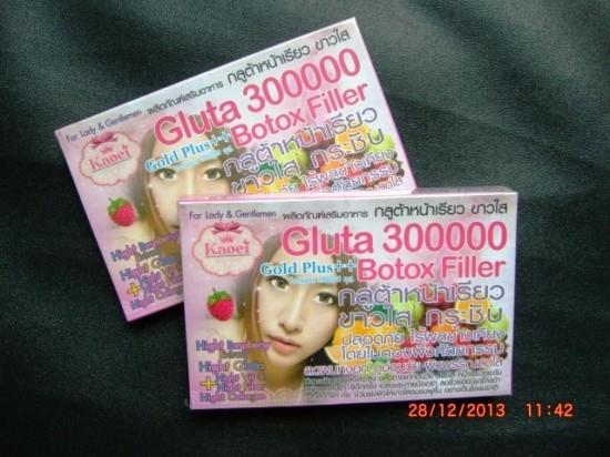 gluta 300000 botox filler asl;i