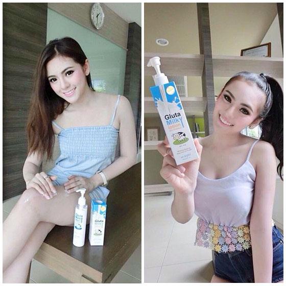 gluta milky lotion 6