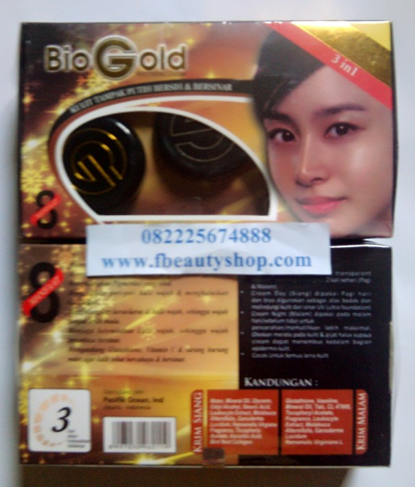 Bio Gold Whitening Cream BPOM