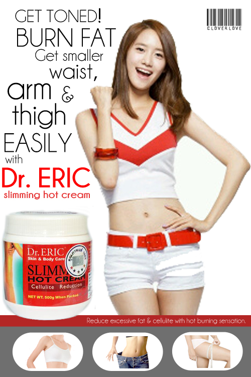 cara pemakaian dr eric hot cream