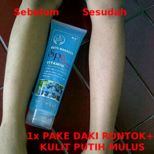 testimoni body spa peeling gel