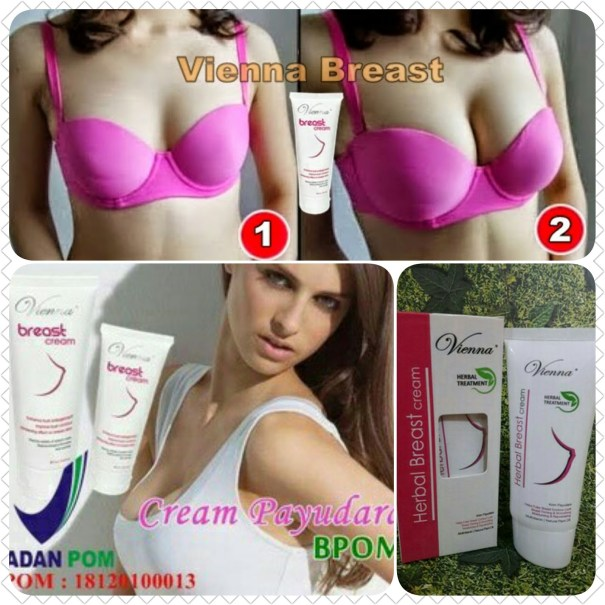 cara kerja viena breast cream
