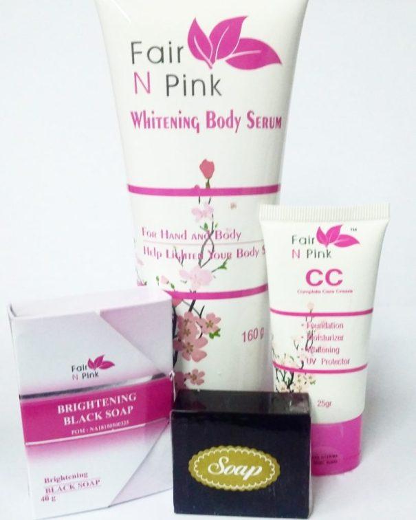 Paket Lengkap Fair N Pink Skincare