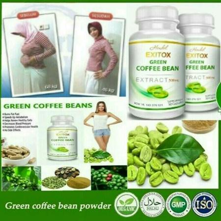 Exitox Green Coffee Bean (Greenco) I Review, Efek Samping, Testimoni, Harga, Serta Asli dan Palsu