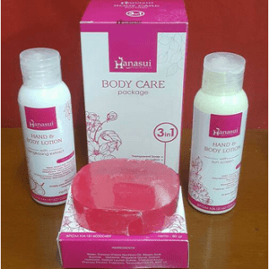 PAKET HANASUI BODY CARE 3 IN 1